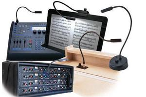 Audio and Lighting Console Lights