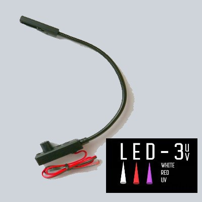LED-3-UV Automotive Task Lights